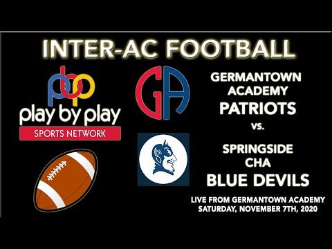 Football: Germantown Academy vs. Springside Chestnut Hill Academy