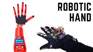 How to Make Arduino Robot Hand? | Wireless Controlled with Glove | Mert Arduino