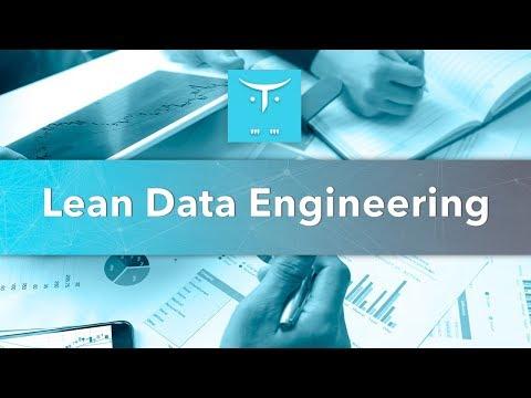 Открытый вебинар «Lean Data Engineering: большие данные при