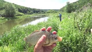 Риболовля на річці Серет