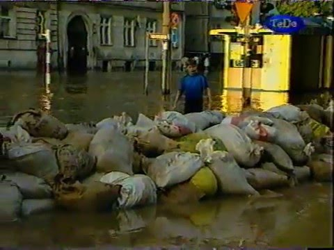 Powódź We Wrocławiu (1997 Rok, Kompilacja Nagrań VHS)