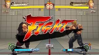 Ultra Street Fighter IV battle: Guile vs Cody