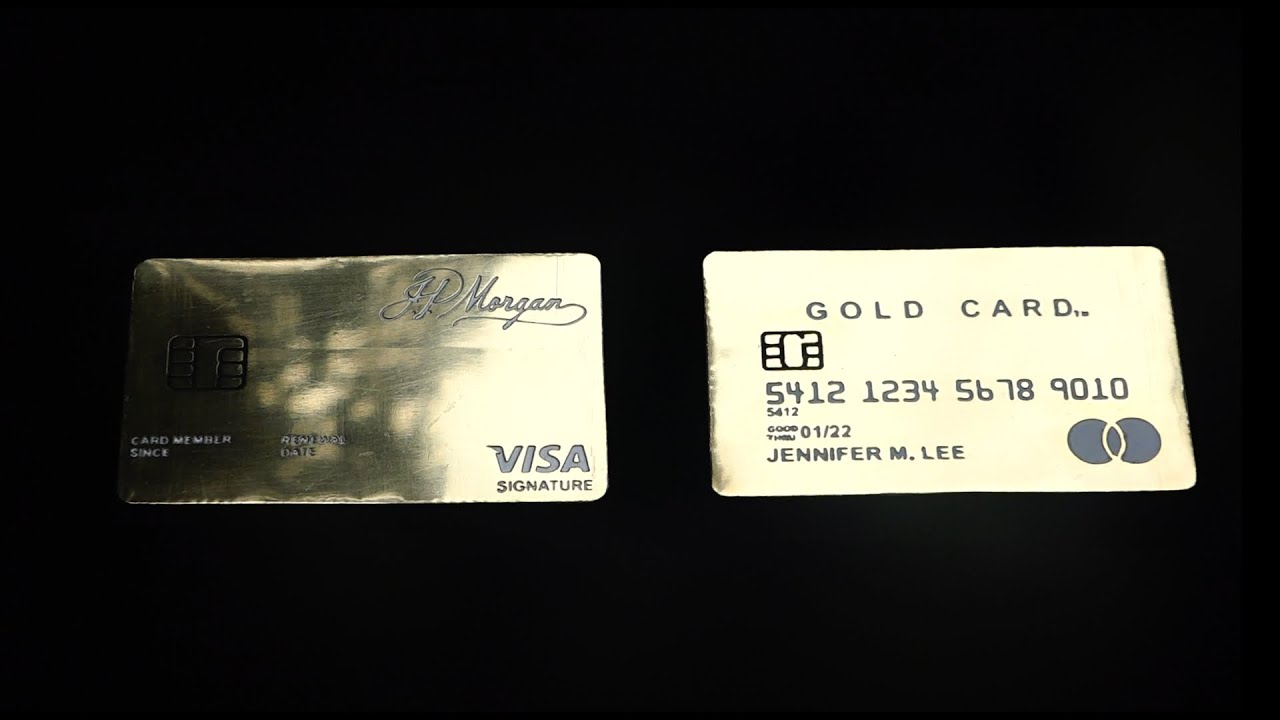 Chances of being approved for a credit card. Handmade Most Exclusive Credit Cards J P Morgan Reserve Card Luxury Card Mastercard Gold Card Youtube