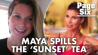 Selling Sunset's Maya Vander thinks Mary gets special treatment | Page Six Celebrity News