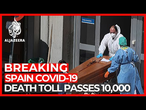 Spain Reports 950 Coronavirus Deaths In 24 Hours