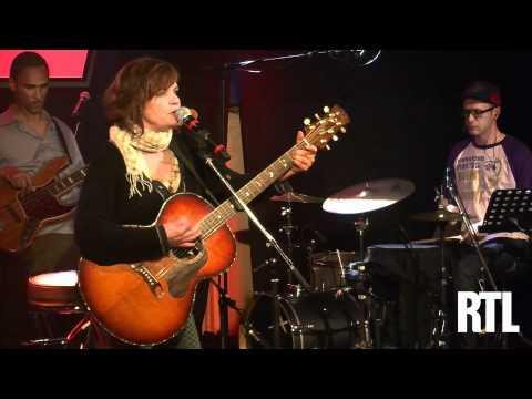 Diane Tell - En pointillé  en live dans le Grand Studio RTL présenté par Eric Jean-Jean. - RTL - RTL