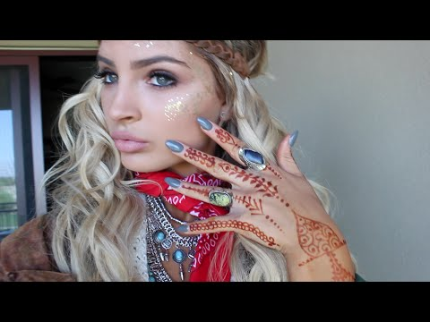GET READY WITH ME ~ COACHELLA FESTIVAL♡