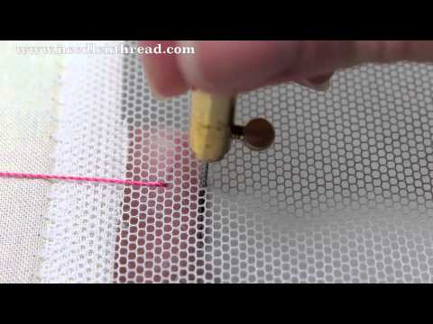 Tambour Embroidery Basic Stitch Youtube
