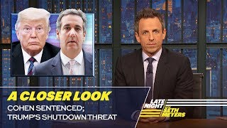 Seth takes a closer look at President Trump insisting the United States build border walls to prevent crime while being accused of a crime himself. » Subscribe to ...