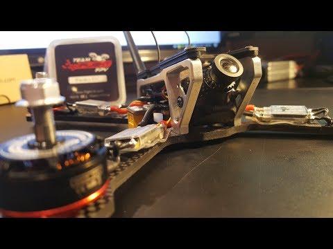 How to Build a Racing Drone 2017 // Matek F405 AIO, Ipeaka32, Emax 2306, Frog Race