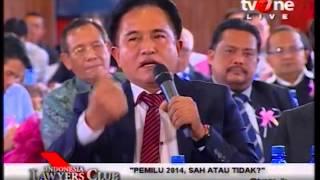 """ILC 28 Januari 2014 """"Pemilu 2014, Sah atau Tidak ?"""" Part#2"""