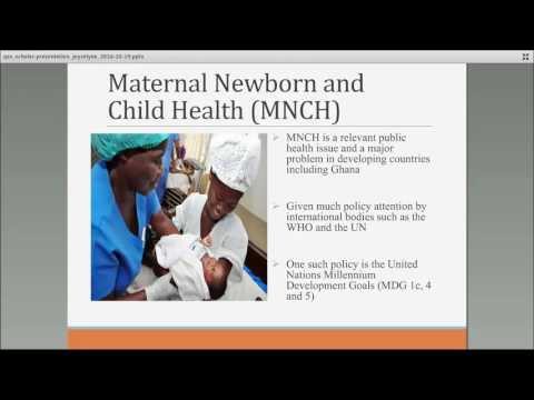 Addressing maternal newborn and child health issues in Ghana