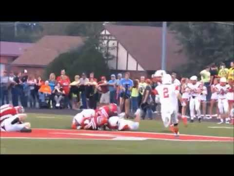 Kyle McLaughlin Skiatook High School vs Collinsville Football