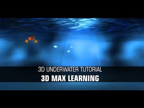 How to make underwater scene in 3dmax
