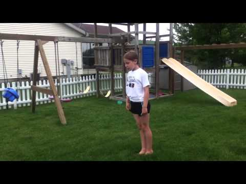 How to do a Front Handspring Stepout Front Handspring