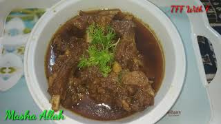 Mutton Chops Masala    Chops Bhuna Recipe    TFF With F