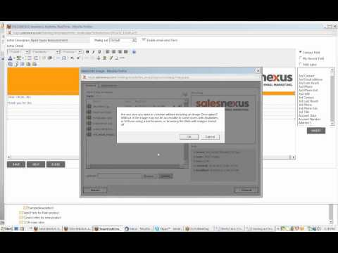 SalesNexus Email Marketing Training