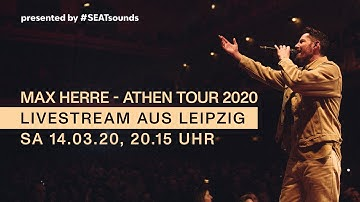 Max Herre & Band - ATHEN-TOUR / LIVE aus Leipzig  (Konzert-Beginn ab Min. 15)