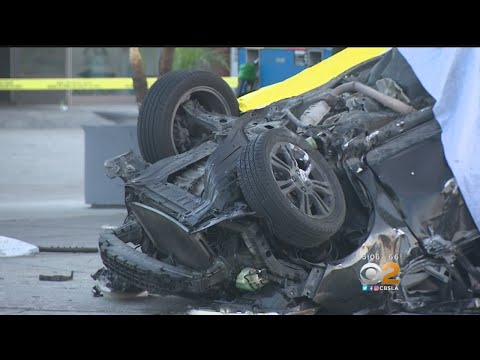 Deadly Gas Station Crash In Azusa - YouTube