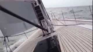Xp 55 from X-yachts - test sail 30.08.13