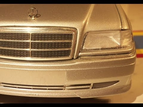 Mercedes-Benz C-Class C36 AMG in scale 1:18 by UT MODELS