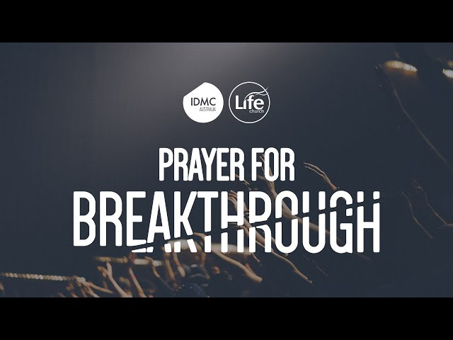 Prayer for Breakthrough Part 3 - Striving Together  |  Rev Paul Jeyachandran