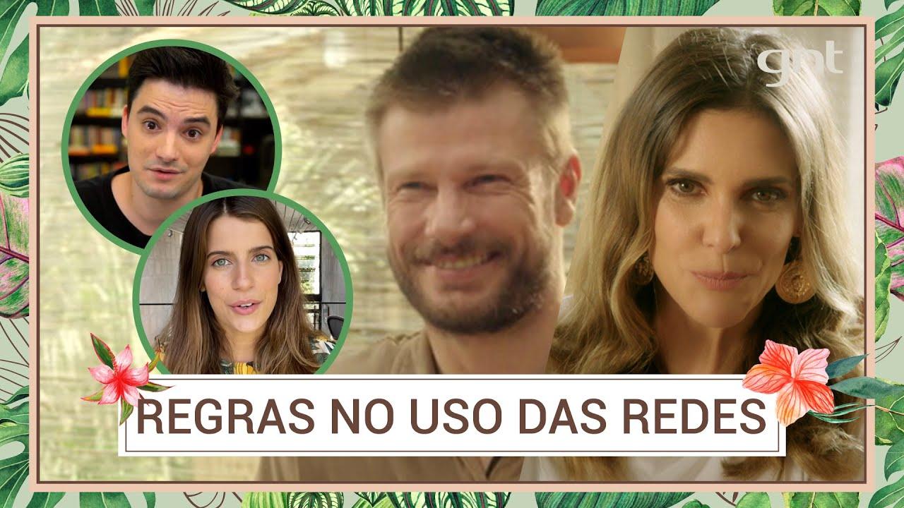 Download Fernanda Lima e Rodrigo Hilbert criam regrinhas para os filhos usarem as redes | Bem Juntinhos