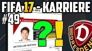 Alle wollen ASANO + Neuer Schwierigkeitsgrad - FIFA 17  Dresden Karriere: Lets Play #49