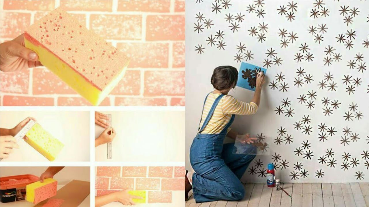 18 Easy Wall Painting Techniques Ideas