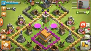 Clash of clans face cam | ep1 1