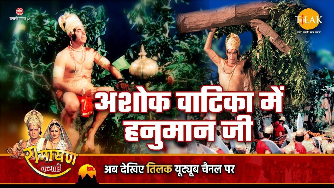 Download रामायण कथा   अशोक वाटिका में हनुमान जी
