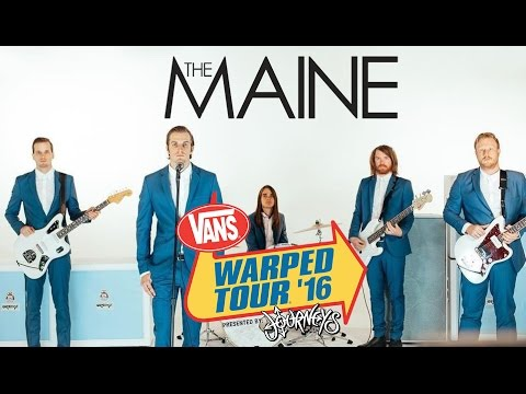 """The Maine - Full Set (Live Vans Warped Tour 2016) """"Put your phones in your fucking pockets!"""""""