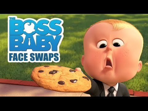 THE BOSS BABY Funniest FACE SWAPS Craziness Part 3 - Try Not To Laugh