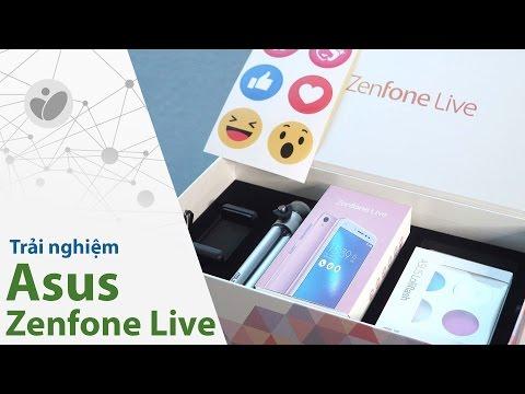 Trải nghiệm Asus Zenfone Live: sống ảo ở một cấp độ mới