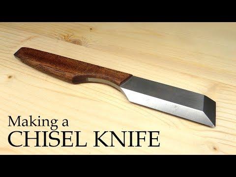 Making a Chisel Knife - inspired by the Mora & kiridashi knives