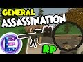Army General Assassination - A big money HIT - Assassin RP - Unturned RP ( Funny Moments )