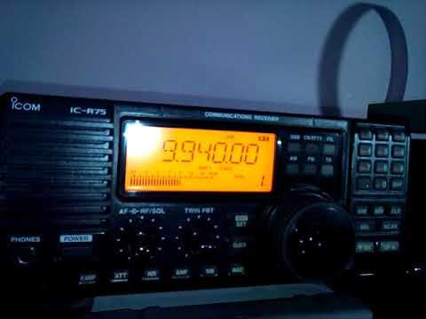 Swaziland Trans World Radio Africa  4/11/17 @ 19:35 UTC on 9940 kHz