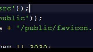 FIXED Error Cannot find module serve favicon   Express Node Heroku Mp3