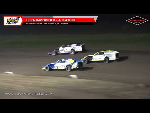 B-Modified Feature - Rapid Speedway - 6/21/19