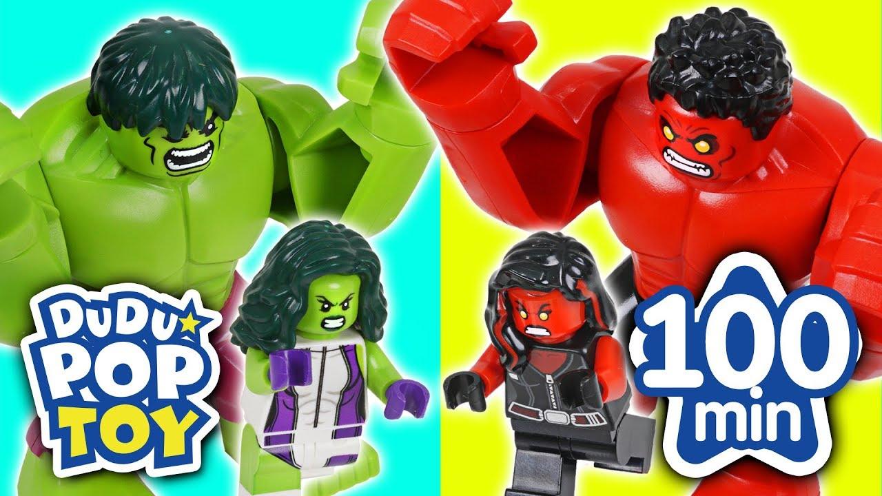 August 2017 TOP 10 Videos 100min Go! Avengers, Power rangers, PJmasks and Transformers - DuDuPopTOY