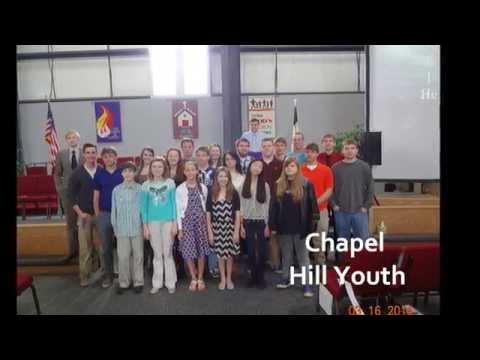 CHUMC Youth Cardboard Testimonies