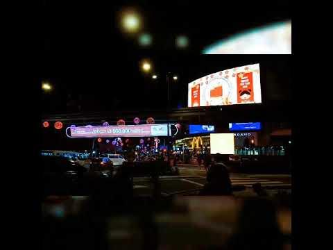 Bukit bintang road ll night life of Kuala Lumpur ll road view of Kuala Lumpur ll Malaysian night lif