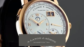 LANGE 1 TIME ZONE – A. Lange & Söhne