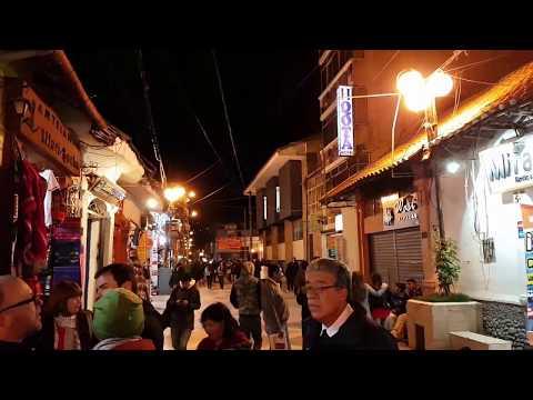 Quito Ecuador evening market