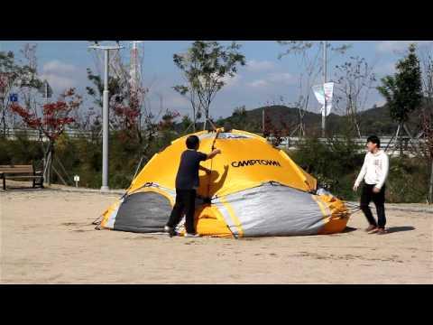 캠프타운 INSTA 텐트 빅돔 에스 해체 동영상