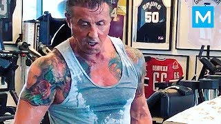 Sly Stallone Workouts for Creed & Rambo | Muscle Madness