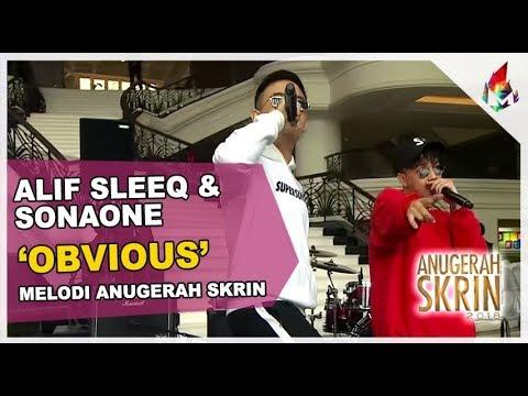 Alif Sleeq & SonaOne | Obvious | Melodi Anugerah Skrin 2018
