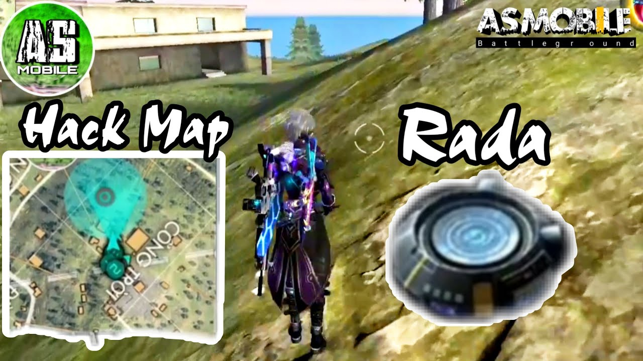[Garena Free Fire] Thử Dùng Cái Rada Hack Map | AS Mobile