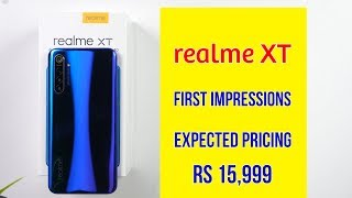 Realme XT Unboxing & First Look ⚡ World's First 64MP Camera
