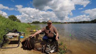 Утренняя рыбалка на Рузском водохранилище